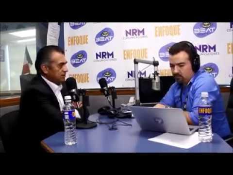 """Entrevista en """"Enfoque Monterrey"""" con Jaime Rodríguez Calderón """"El Bronco"""""""