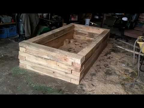 Raised Flower Beds   YouTube