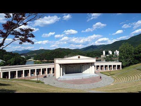 Walking in Yonsei University Wonju Campus - Most scenic campus in Korea | 한국에서 가장 아름다운 연세대학교 원주캠퍼스