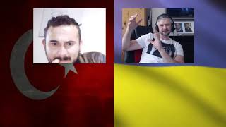 Ukrainian Explained the Turkish guy about Russian aggression in Ukraine.