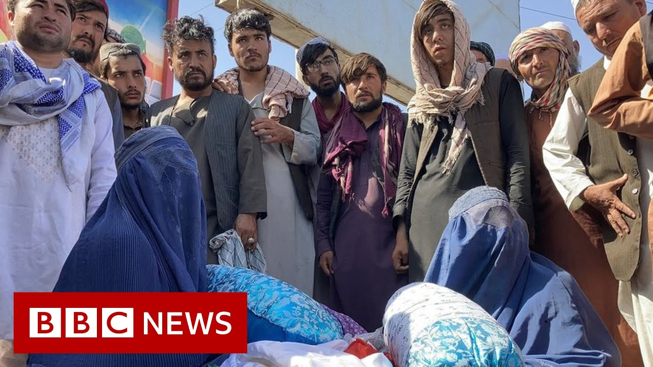 Download 'No work and no money': Afghans settle into life under Taliban rule - BBC News