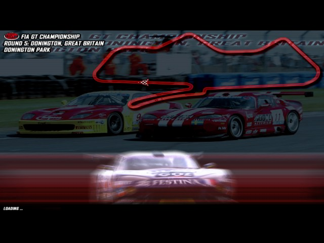 GTR FIA GT Game PC