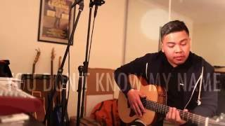 """You don't know my name"" - ALICIA KEYS acoustic cover"