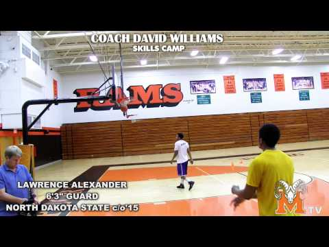 "[ PEORIA MANUAL TV ] North Dakota State 6'3"" Guard Lawrence Alexander c/o'15"