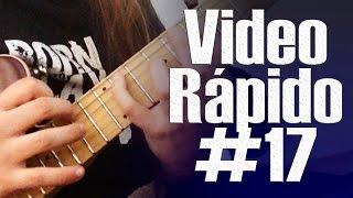Vídeo Rápido# 17 - Arpeggios Frígio (Lição) - Phrygian Arpeggios (Lesson)