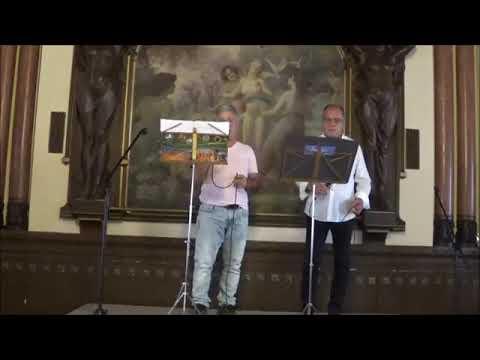 Joaquim D'Aboim em dueto com Orlando Leal  -  Inocente