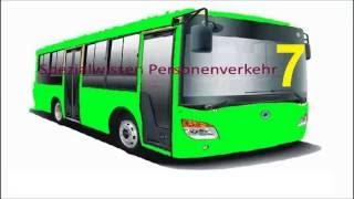 Spezialwissen Personenverkehr 7 IHK Prüfung