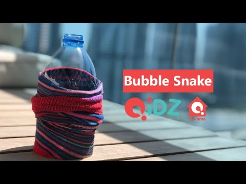 Bubble Snake   DIY Games For Kids   QiDZ At Home