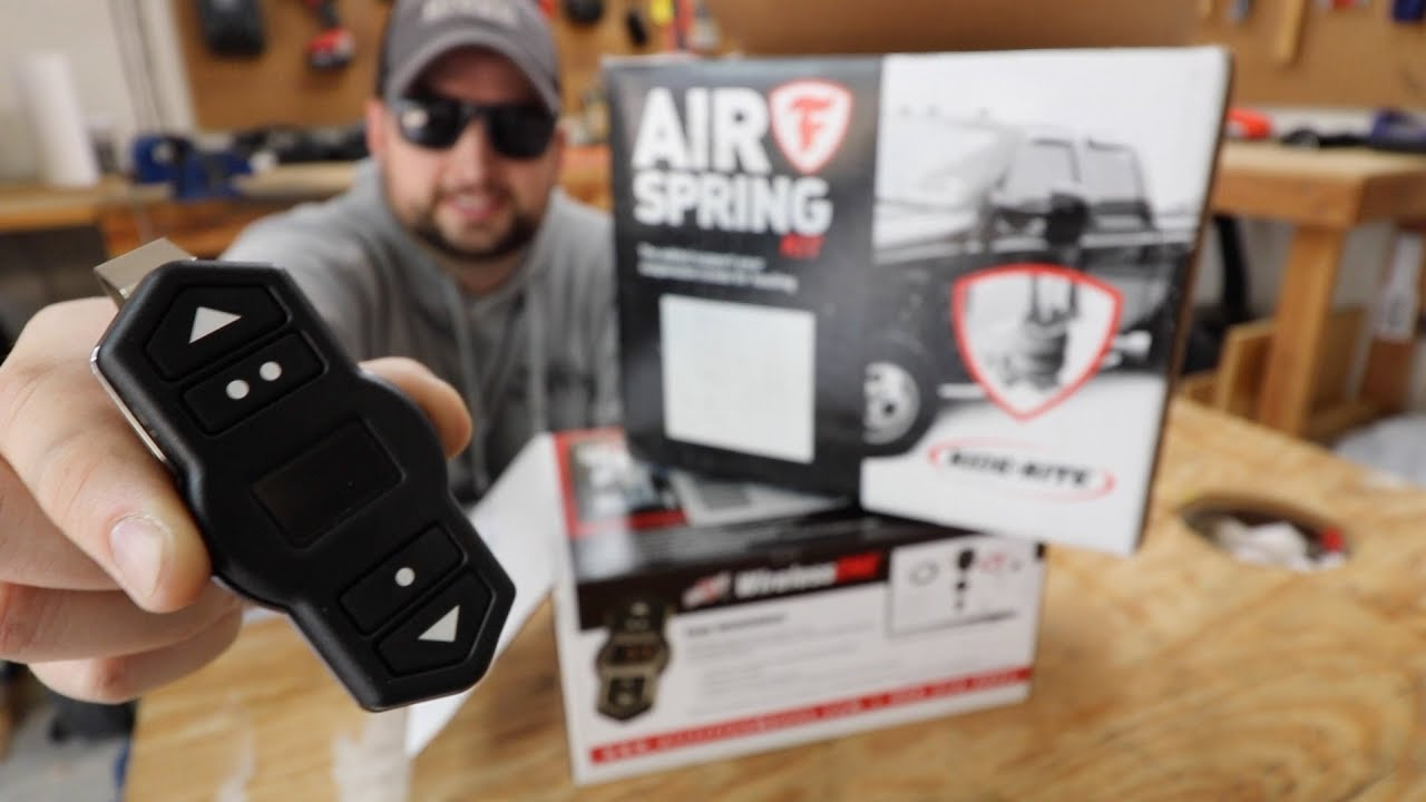 How to use Air Lift Wireless ONE Compressor with Ride Rite Air Springs