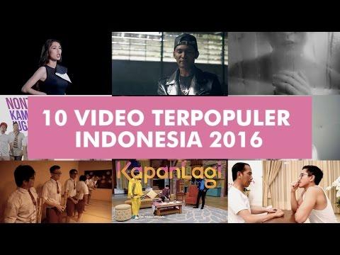10 Video Terpopuler Indonesia Tahun 2016 - Youtube Rewind