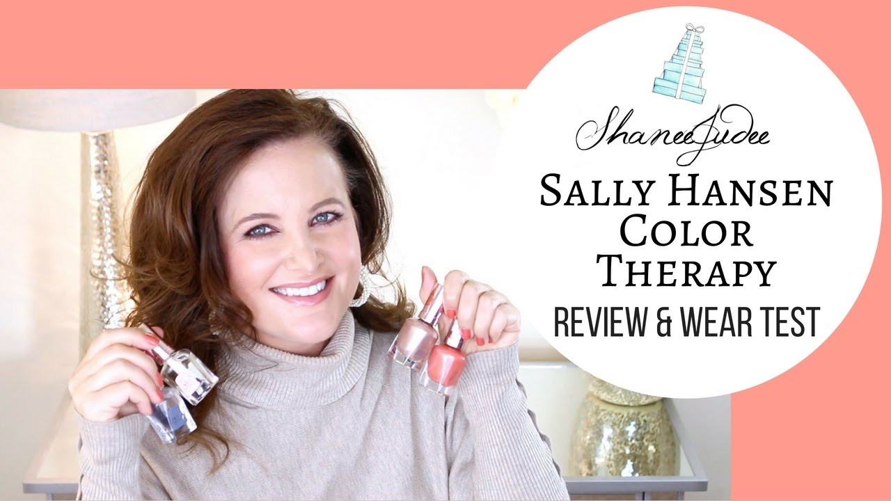 Colour therapy for marriage - Colour Therapy For Days Sally Hansen Color Therapy Nail Polish Review Wear Test Shaneejudee