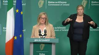 Government briefing on Covid-19 measures