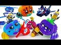 Cute Spiders Are Coming~! Go Go Super Wings #ToyMartTV