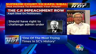 CJI Impeachment Row (Part 2): Dushyant Dave