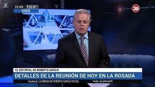 """Comentario editorial de Roberto García en su programa """"La mirada"""" - 07/05/18"""