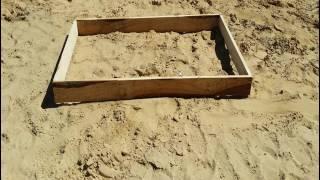 Jak wykonać szalunek ławy fundamentowej. ? Wyznaczanie osi budynku