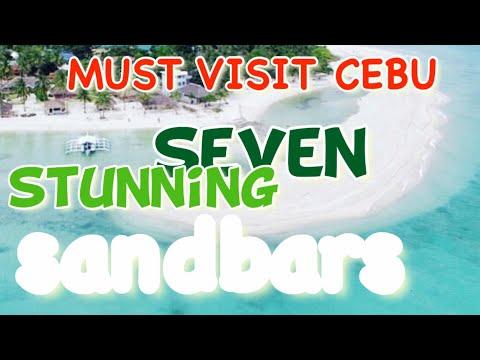 7 Stunning Sandbars in Cebu Worth a Visit, Must Visit Cebu!