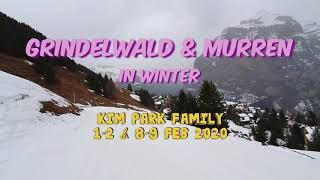 스위스 스키 여행 - 그린덴발트, 뮤렌 Skiing …