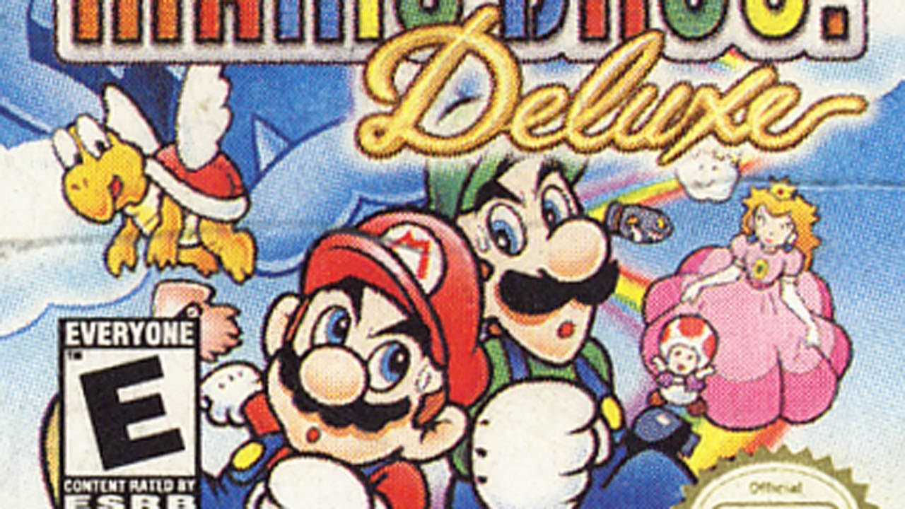 Classic Game Room Super Mario Bros Deluxe For Game Boy Color