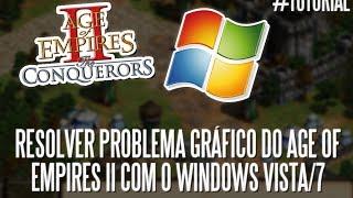 Tutorial: resolver o problema gráfico do Age of Empires II com o Windows Vista/7