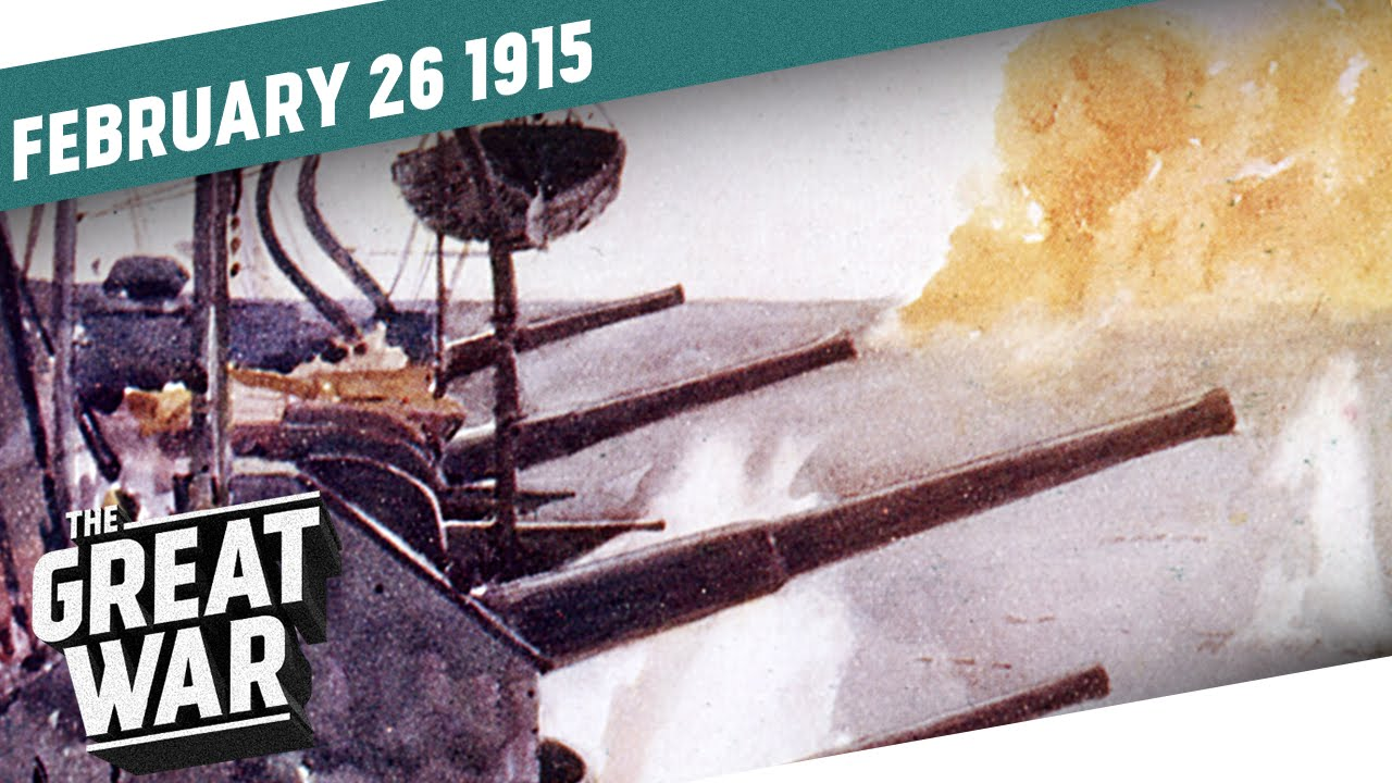 Download Prelude to Gallipoli - Naval Bombardement of the Dardanelles I THE GREAT WAR Week 31