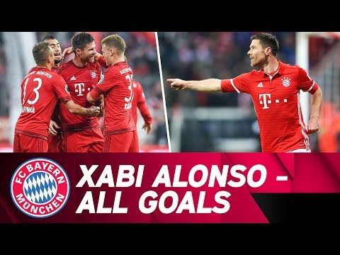 Xabi Alonso's goals at FC Bayern! 💥 | #GraciasXabi