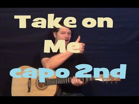 Take on Me (a-ha) Easy Guitar Lesson Strum Chords Licks How to Play ...