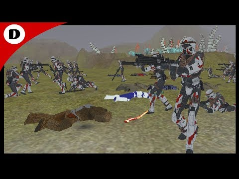 OLD REPUBLIC TROOPERS ~ Base Defense - Men of War Star Wars Mod