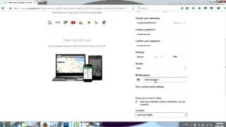 كيفية إنشاء g mail account   كيفية إنشاء بريد Gmail لك لا عليك   لا تخلط مع