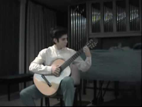 Audición de Daniel Wattremez Rusan, Conservatorio Profesional de Música Arturio Soria, Madrid