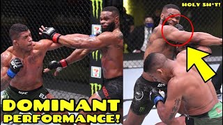 MMA Community reacts to Gilbert Burns DOMINANT win over Tyron Woodley, McGregor is the #1 contender