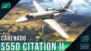 Carenado S550 Citation II + GTN 750 | X-Plane 11