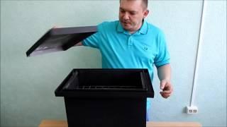 Коптильня с гидрозатвором из нержавейки (Видео обзор)