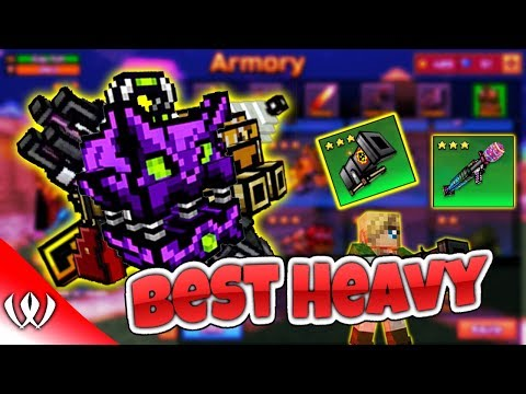 5 Best Heavy Weapons -  Pixel Gun 3D