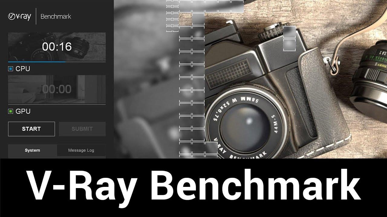 V-Ray Benchmark - GPU vs  CPU
