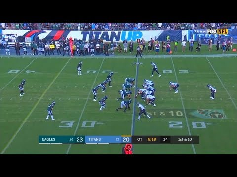 Marcus Mariota Refuses To Lose - Incredible Comeback Win Against The Eagles - Final Drive