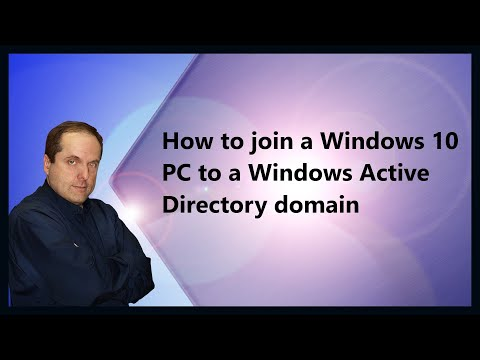 How to join a Windows 10 PC to a Windows Active Directory domain
