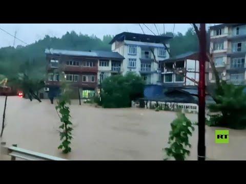 فيضانات عارمة في الصين  - نشر قبل 3 ساعة