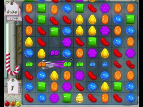 Candy Crush Saga - First Ever Level