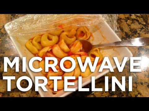 MICROWAVE TORTELLINI?!  Freezerburns