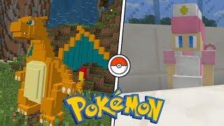 Minecraft PE : ADDON POKÉMON ! (Minecraft Pocket Edition)