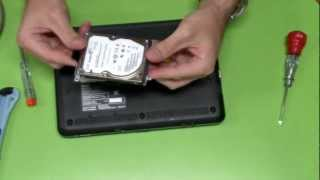 Replace RAM & HDD Sony VAIO VPC-M