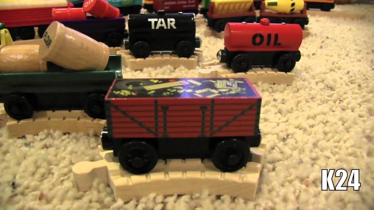 Thomas Wooden Railway Collection (#4) - YouTube