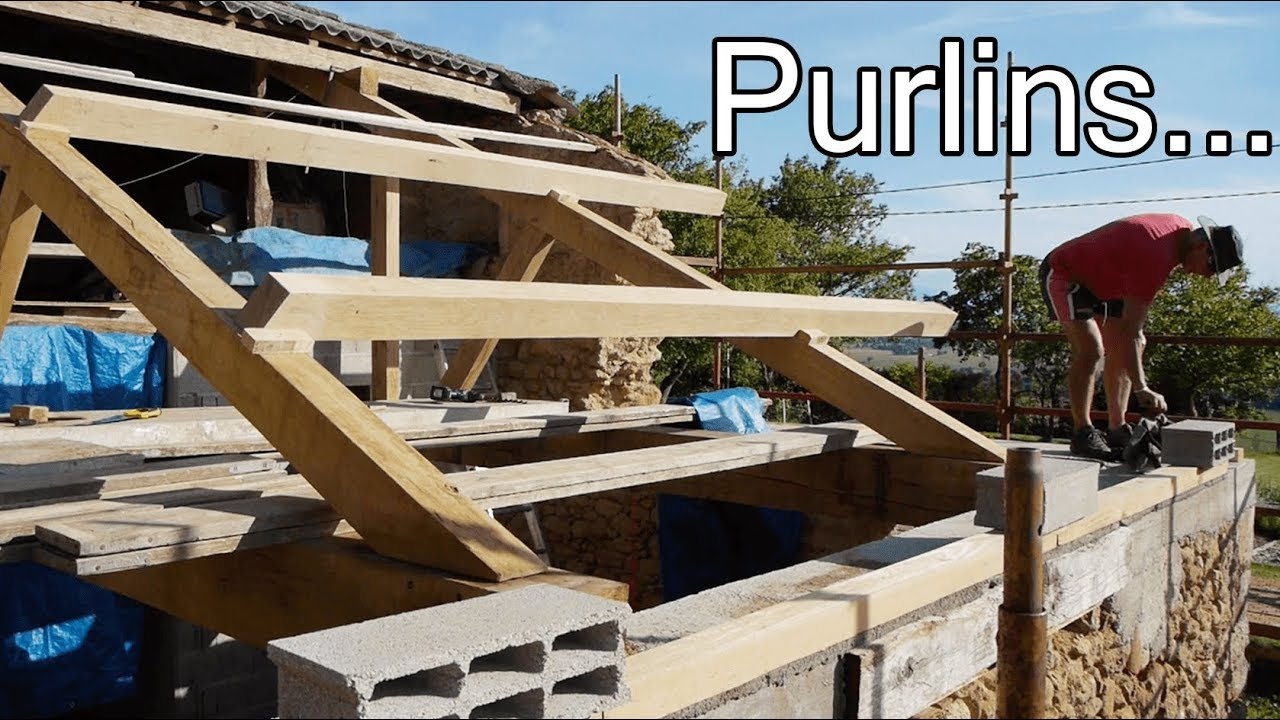 DIY ROOF: WHAT ARE PURLINS??