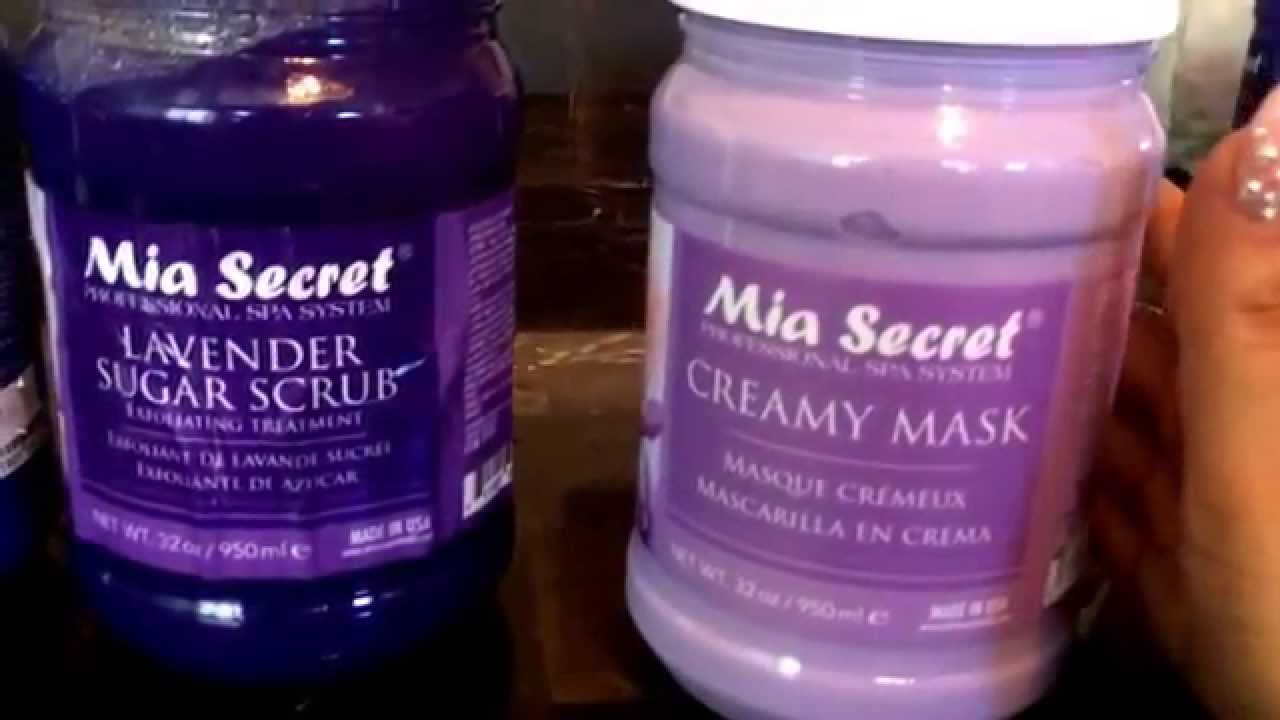 Mia secret productos para pedicure y manicure revision! - YouTube
