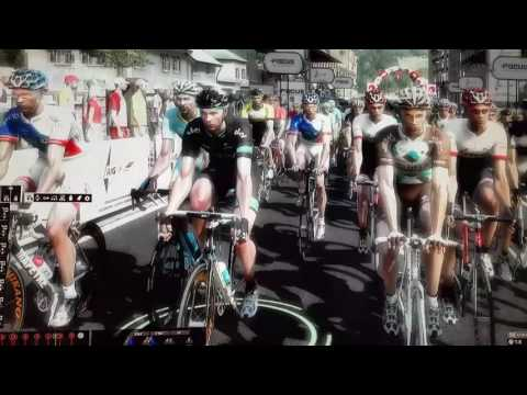 """""""PRO CYCLING MANAGER."""" WINDOWS HD GAME TEST. 