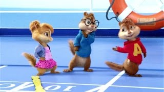 """One last time """"attends-moi"""" (Ariana Grande feat. Kendji Girac) - Alvin and the chipmunks + Lyrics"""