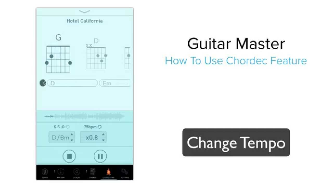 Introducing Chordec Feature In Guitar Master Chord Detection Youtube