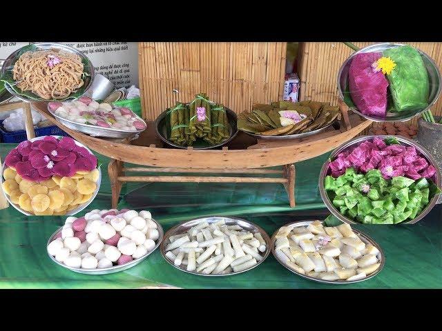 Thưởng thức bánh dân gian ở Làng Bột Sa Đéc, ngon và chuyên nghiệp