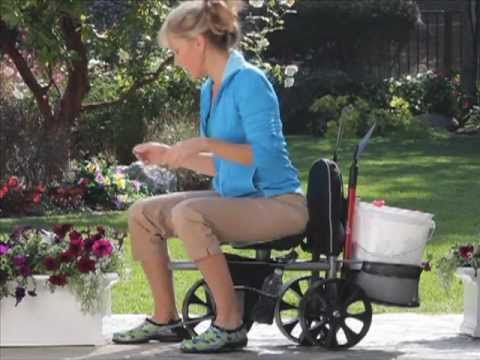 Rolling Gardening Seat Garden Tools Solutions YouTube